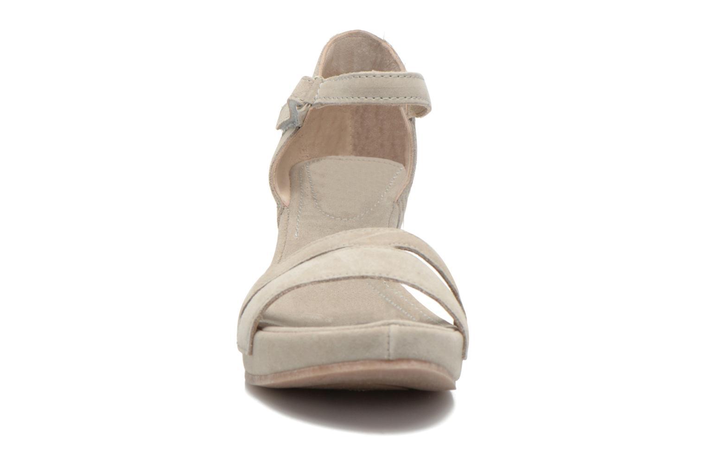 Sandales et nu-pieds Khrio Lola Gris vue portées chaussures