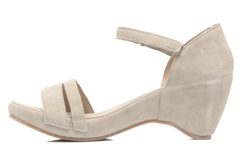 Sandales et nu-pieds Khrio Lola Gris vue face