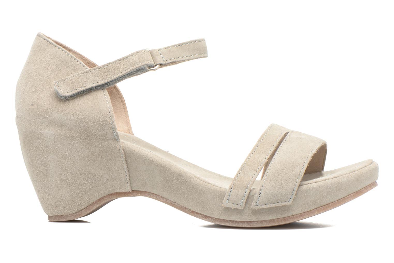Sandales et nu-pieds Khrio Lola Gris vue derrière