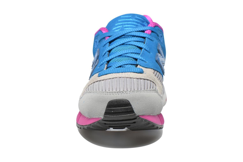 Baskets New Balance W530 Bleu vue portées chaussures