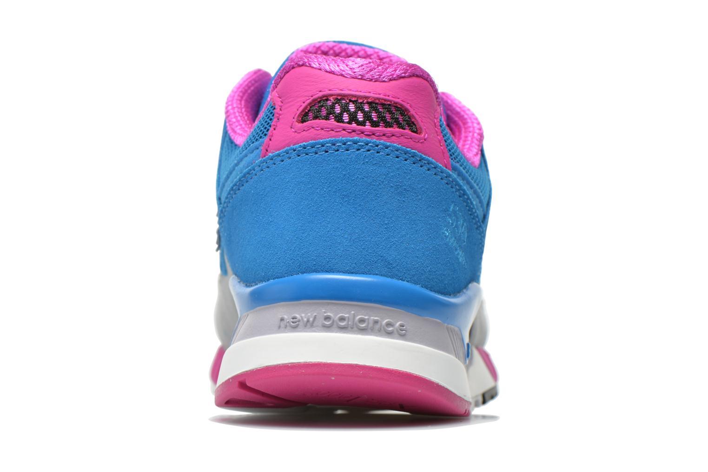 Baskets New Balance W530 Bleu vue droite