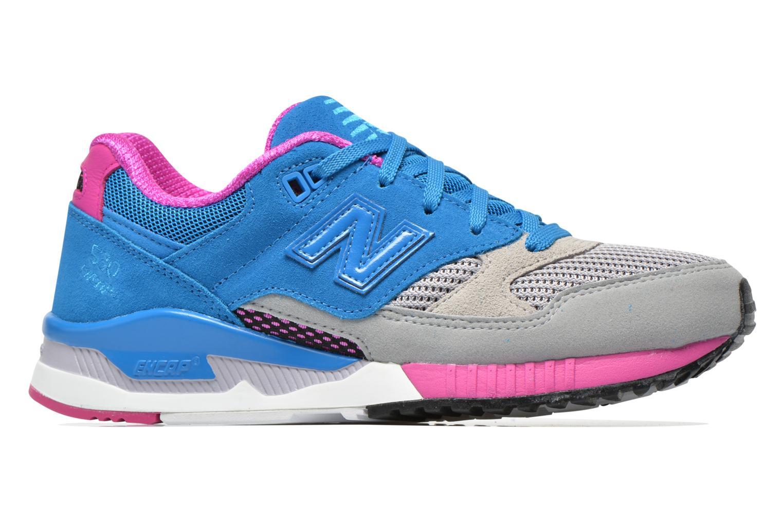 Sneaker New Balance W530 blau ansicht von hinten