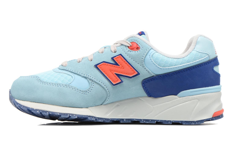 Sneakers New Balance WL999 Blå bild från framsidan