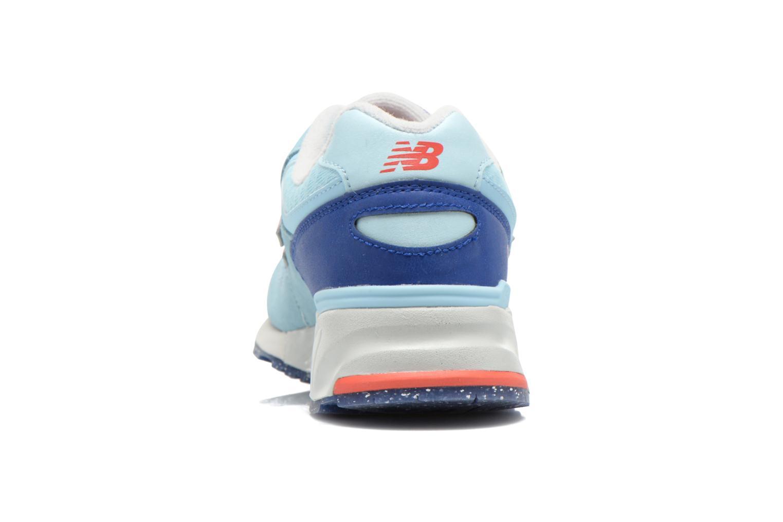 Sneaker New Balance WL999 blau ansicht von rechts