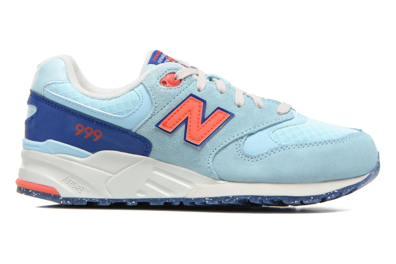 Sneakers New Balance WL999 Blå bild från baksidan