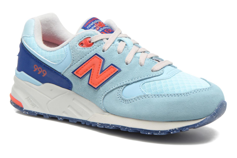 Sneakers New Balance WL999 Blå detaljerad bild på paret