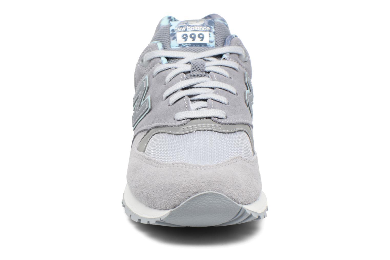 Sneaker New Balance WL999 grau schuhe getragen