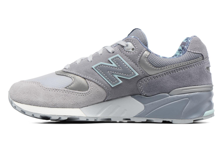 Sneaker New Balance WL999 grau ansicht von vorne
