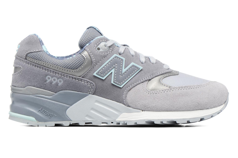 Sneaker New Balance WL999 grau ansicht von hinten