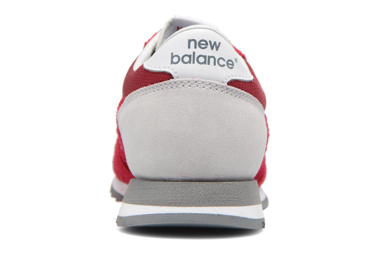 Baskets New Balance CW620 Rouge vue droite