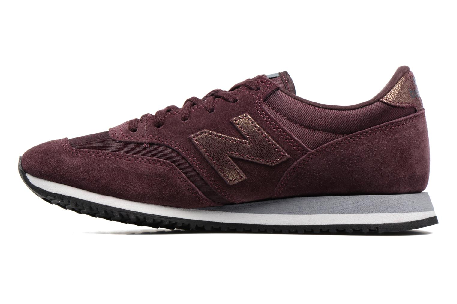 Baskets New Balance CW620 Violet vue face