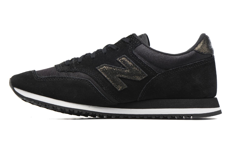Sneakers New Balance CW620 Zwart voorkant