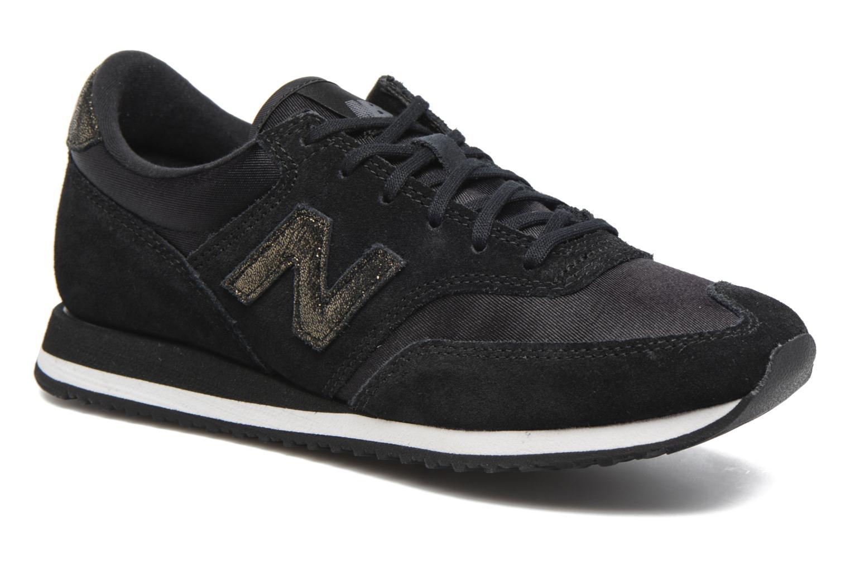Sneakers New Balance CW620 Sort detaljeret billede af skoene