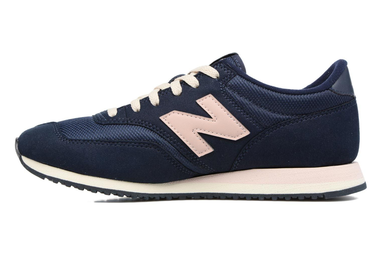 Sneakers New Balance CW620 Blå se forfra