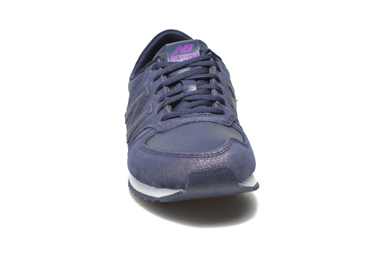 Sneaker New Balance WL420 lila schuhe getragen