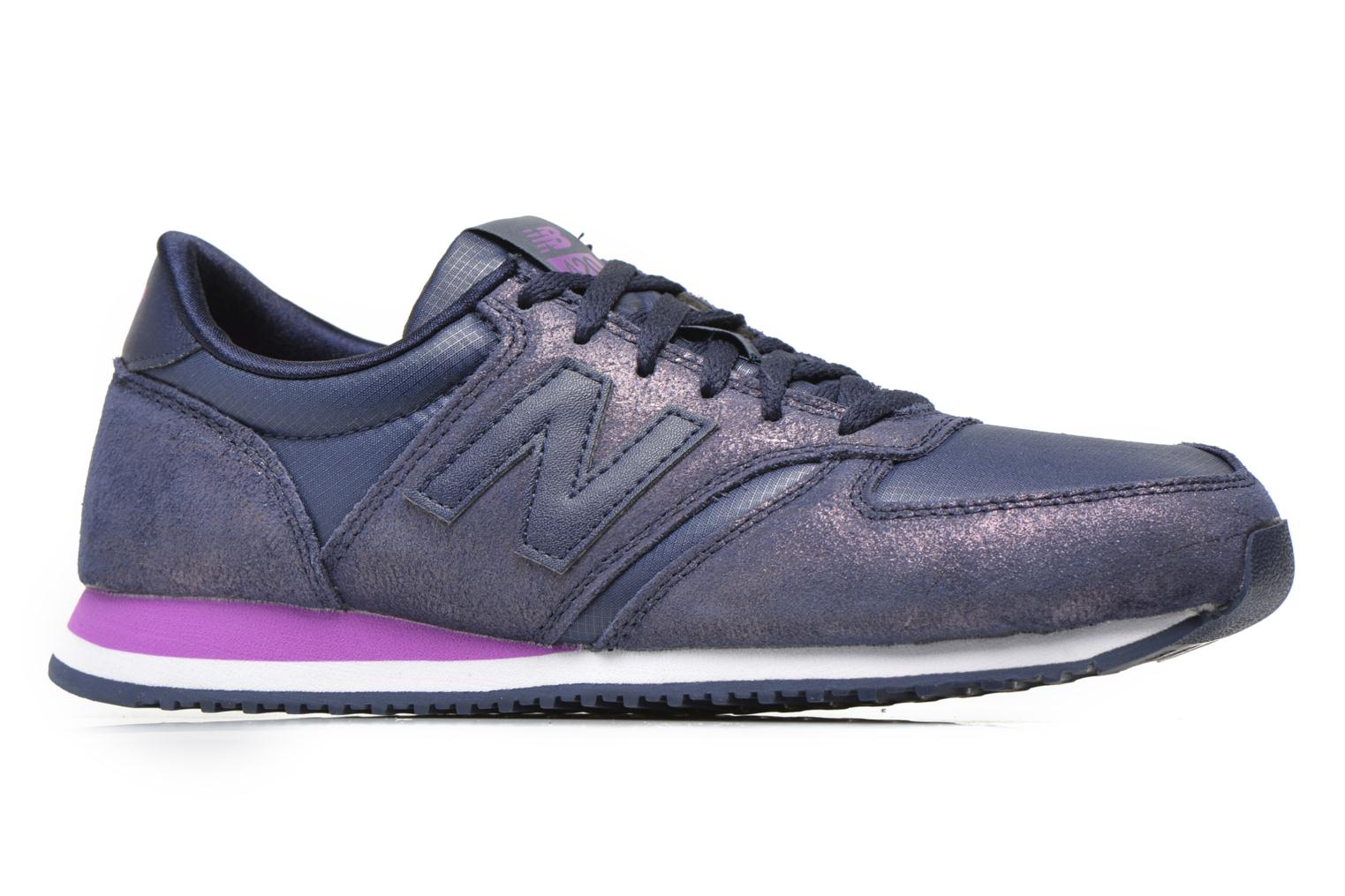 Trainers New Balance WL420 Purple back view
