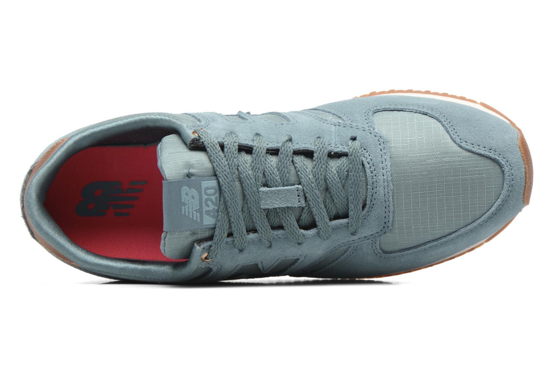 Sneaker New Balance WL420 blau ansicht von links