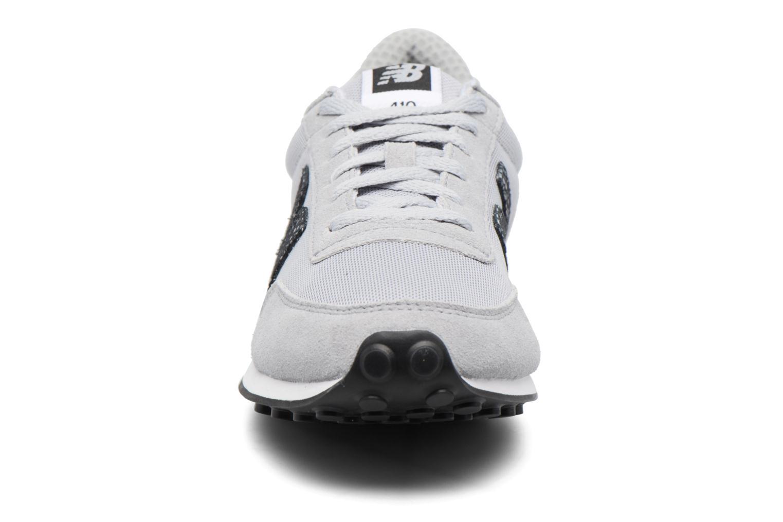 Baskets New Balance WL410 Gris vue portées chaussures