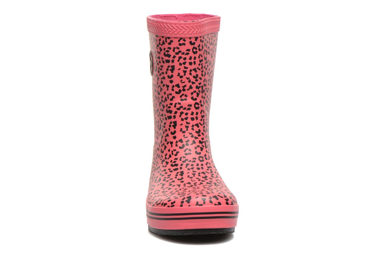 Bottes Havaianas Aqua Kids Animal Rose vue portées chaussures
