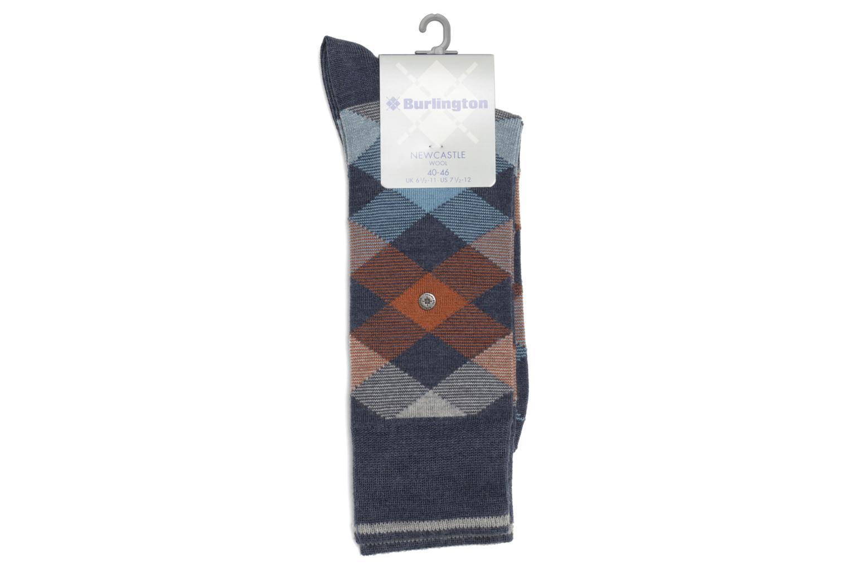 Chaussettes P.LOSANGES 6688 bleu jeans