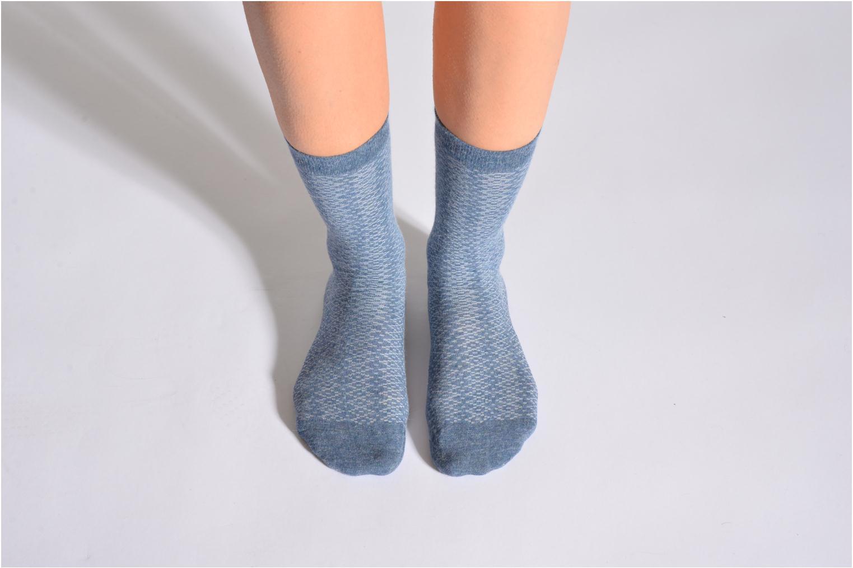 Chaussettes et collants Doré Doré Chaussettes CARESSE Bleu vue détail/paire