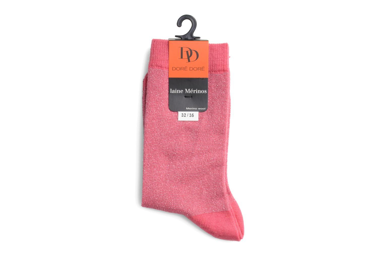 Sokken en panty's Doré Doré Sokken GLITTER Roze rechts