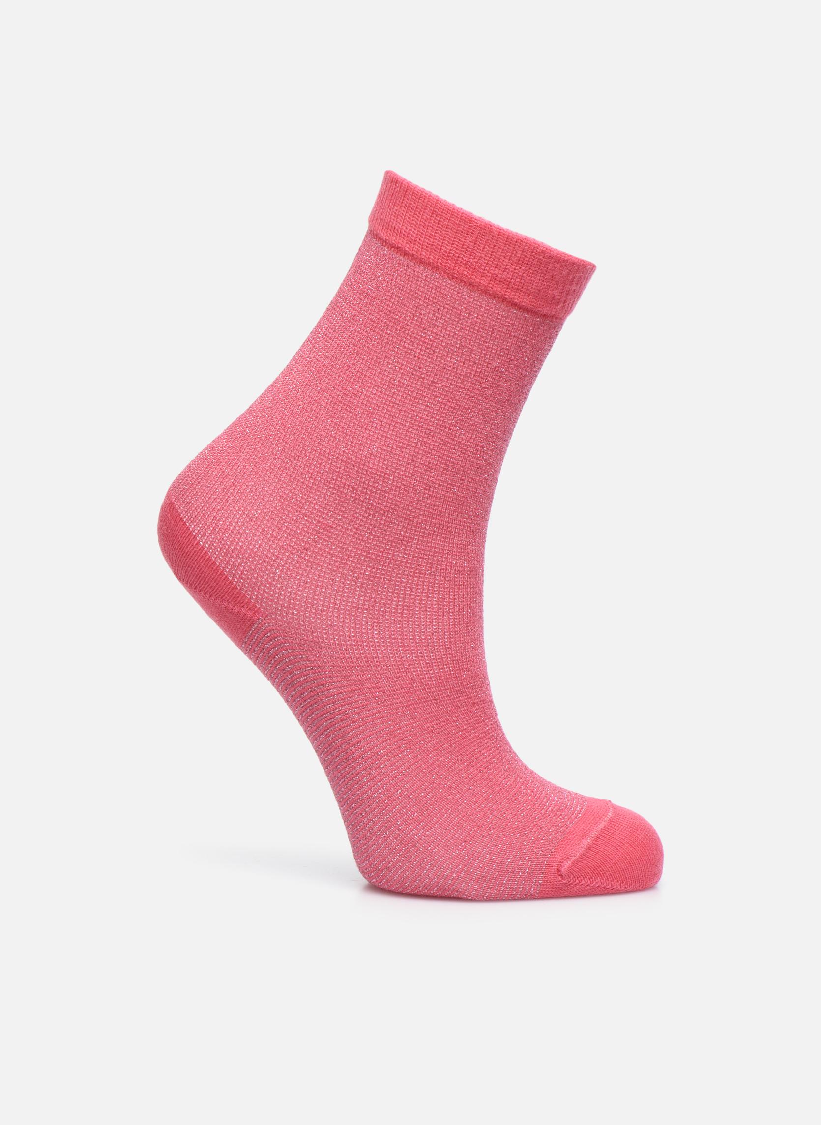 Sokken GLITTER 051 - rose