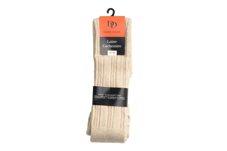 Chaussettes TORSADES 118 - ecru