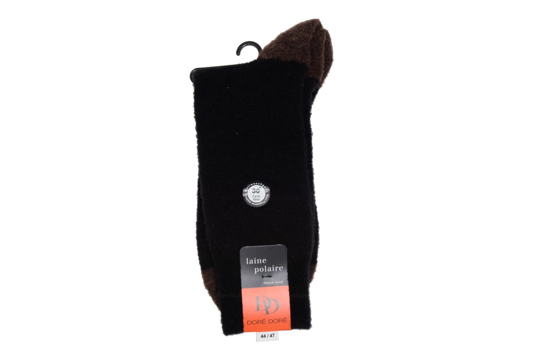 Chaussettes Polaire 092 - noir / gris