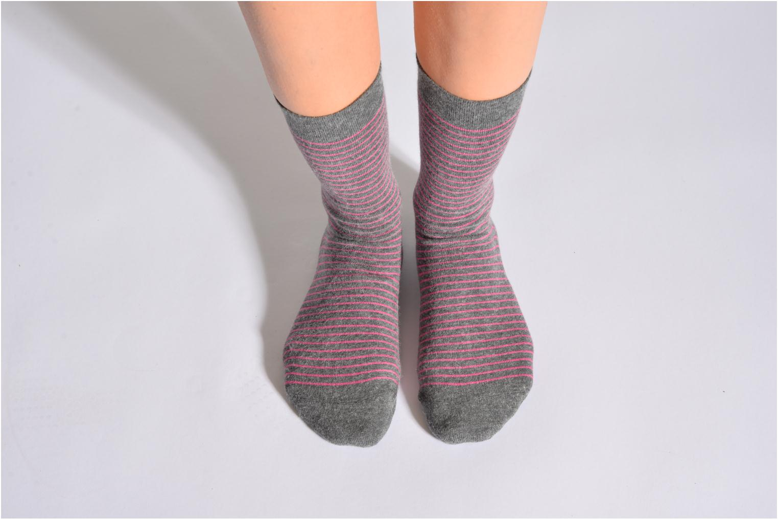 Calcetines RAYURES TENDRESSES 032 - gris