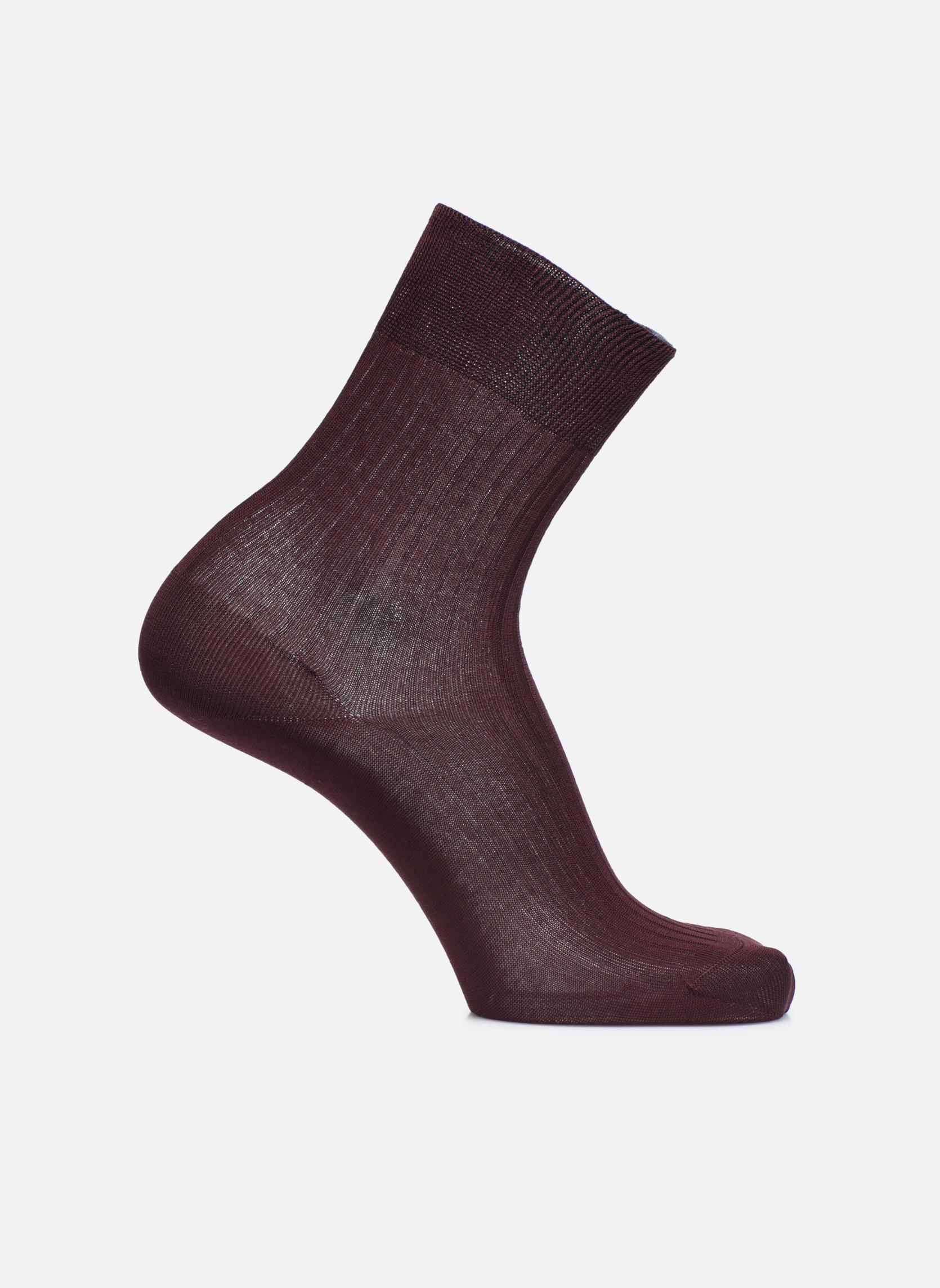 Socken PURETÉ 536 - bordeaux