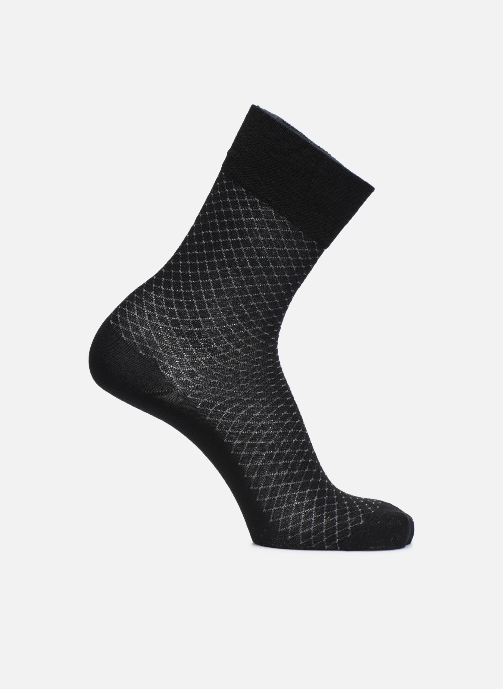 Sokken en panty's Doré Doré Sokken DISTINCTION Zwart detail