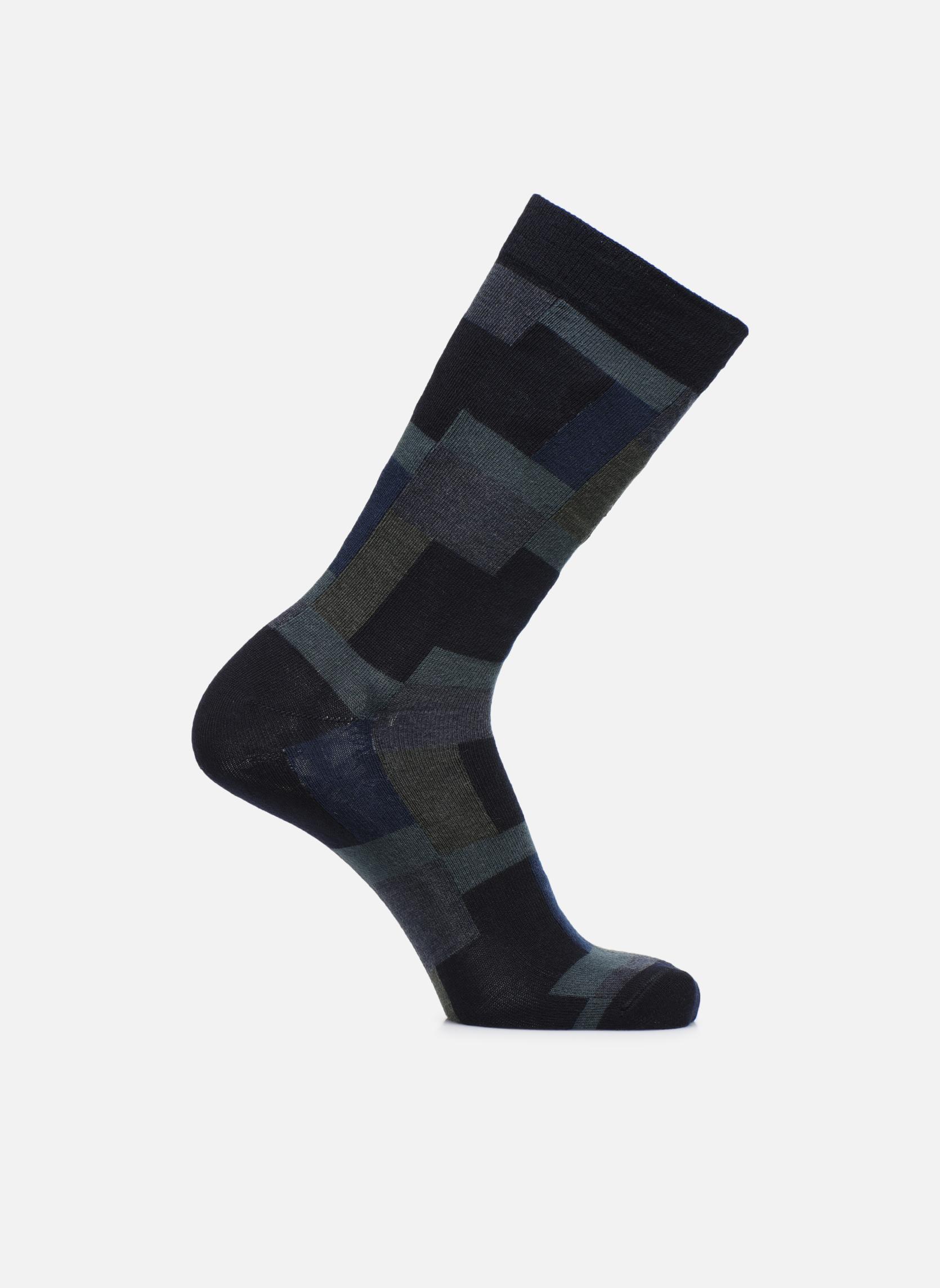 Socken GÉOMÉTRIE 044 - bleu