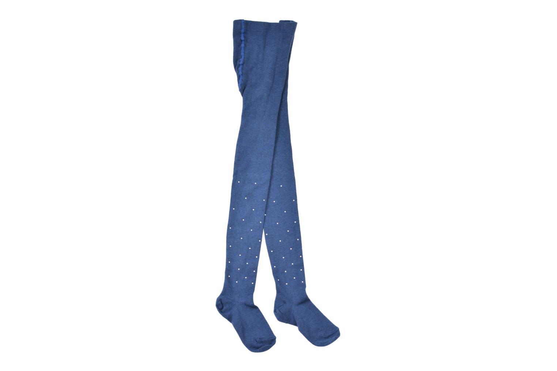 Chaussettes et collants Doré Doré Collant PERLES Bleu vue portées chaussures