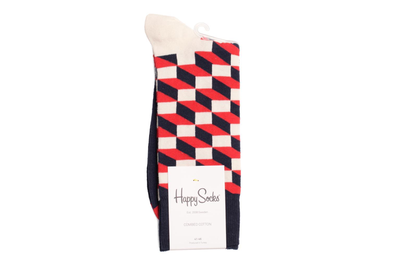 Chaussettes et collants Happy Socks Chaussettes FILLED OPTIC Bleu vue droite