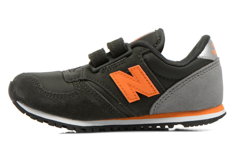 Sneaker New Balance KE420 I schwarz ansicht von vorne