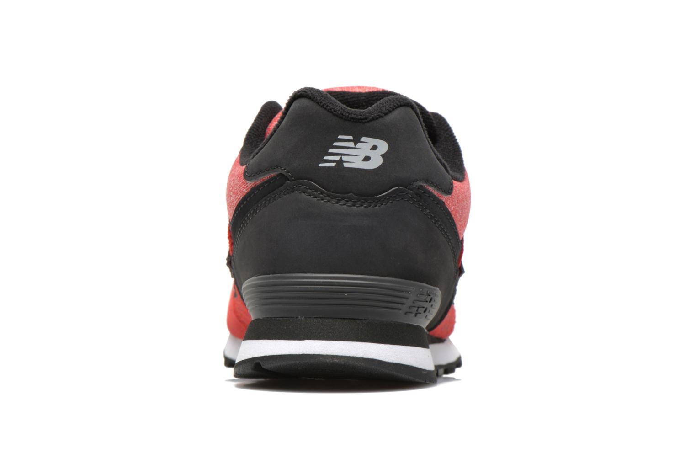 Baskets New Balance KL574 J Rouge vue droite