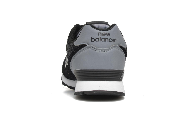 Sneakers New Balance KL574 J Sort Se fra højre