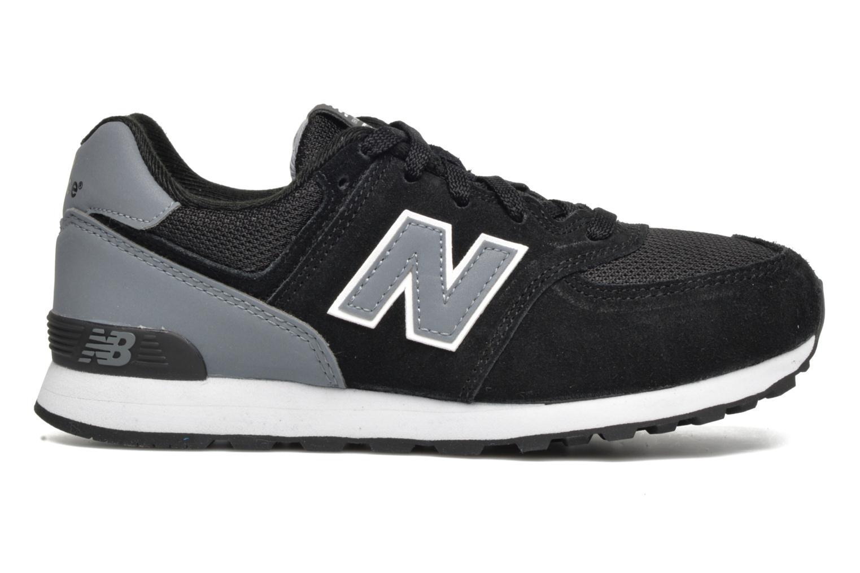 Sneaker New Balance KL574 J schwarz ansicht von hinten