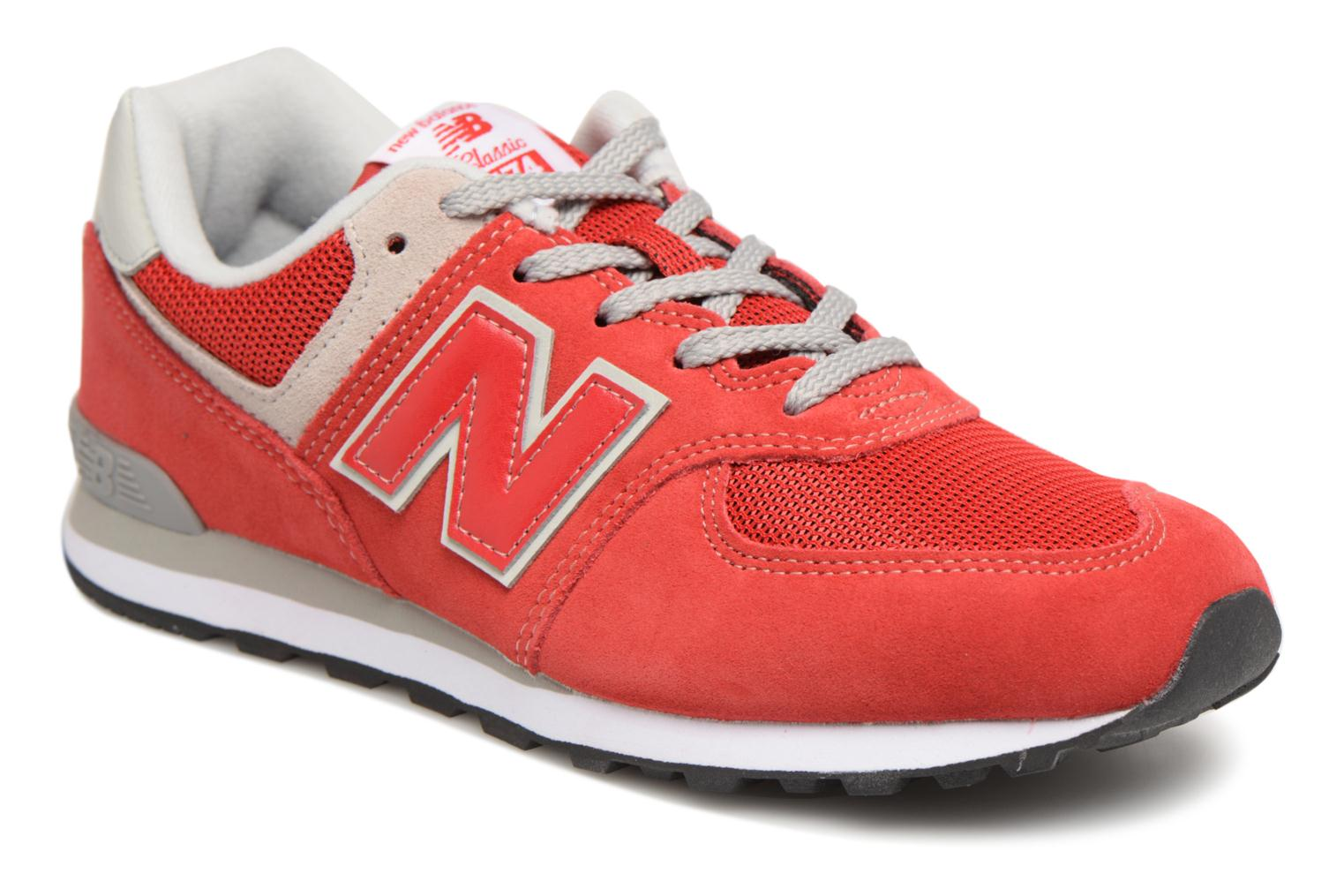 Balance Red J New Grey KL574 TSOHH
