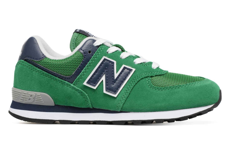 Sneaker New Balance KL574 J grün ansicht von hinten