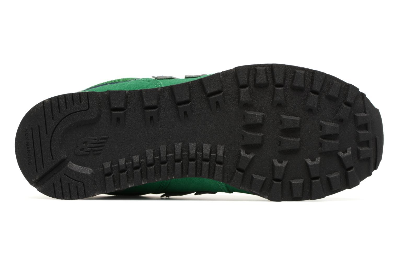 Sneaker New Balance KL574 J grün ansicht von oben