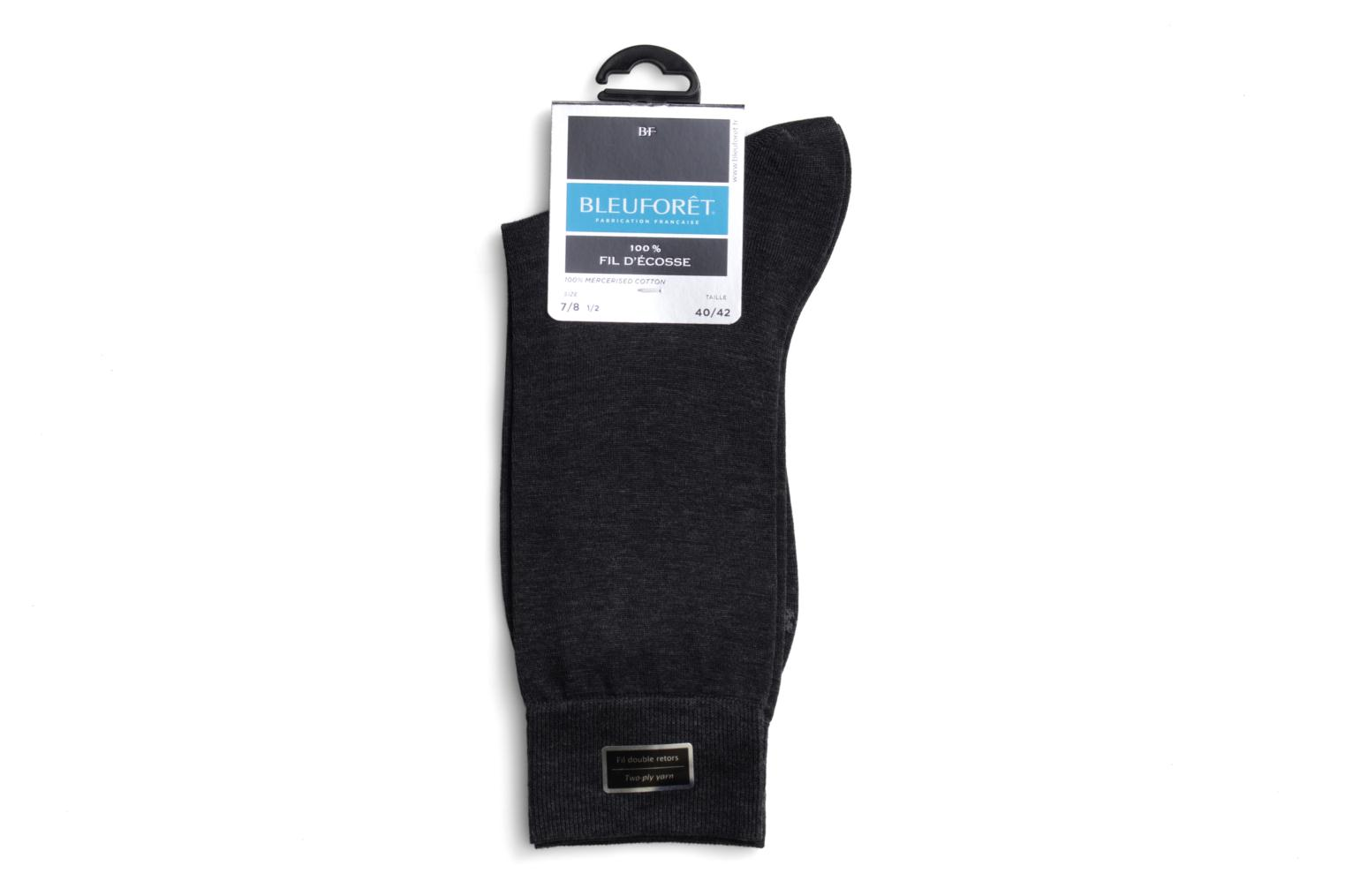 Chaussettes F.ECOSSE Anthracite chiné
