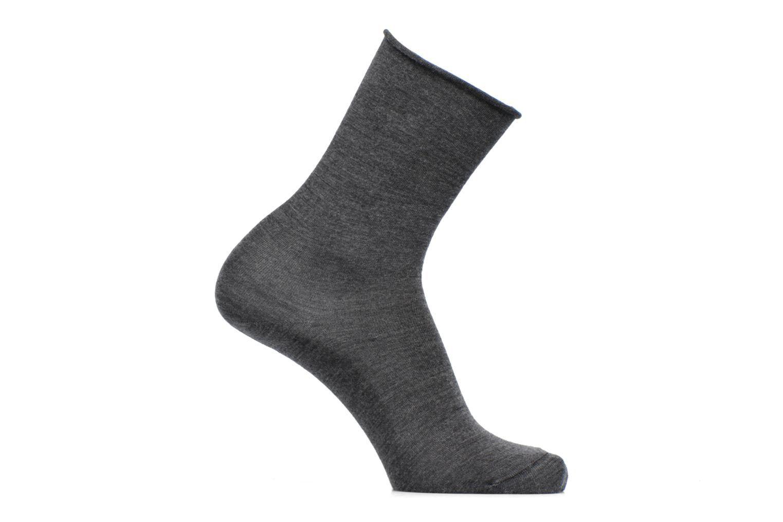 Socks & tights BLEUFORÊT Chaussettes laine fine Grey detailed view/ Pair view