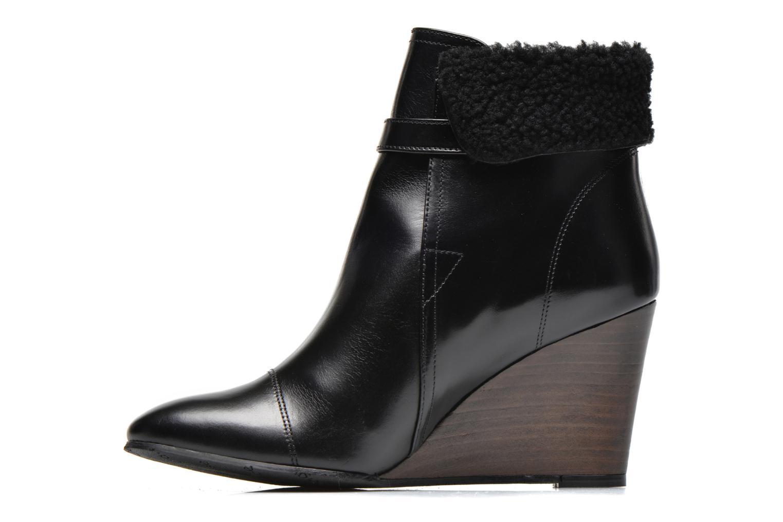 Stiefeletten & Boots Georgia Rose Chartreuse schwarz ansicht von vorne