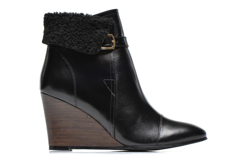 Stiefeletten & Boots Georgia Rose Chartreuse schwarz ansicht von hinten
