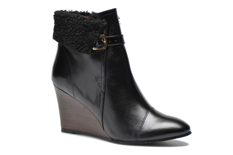 Stiefeletten & Boots Georgia Rose Chartreuse schwarz detaillierte ansicht/modell