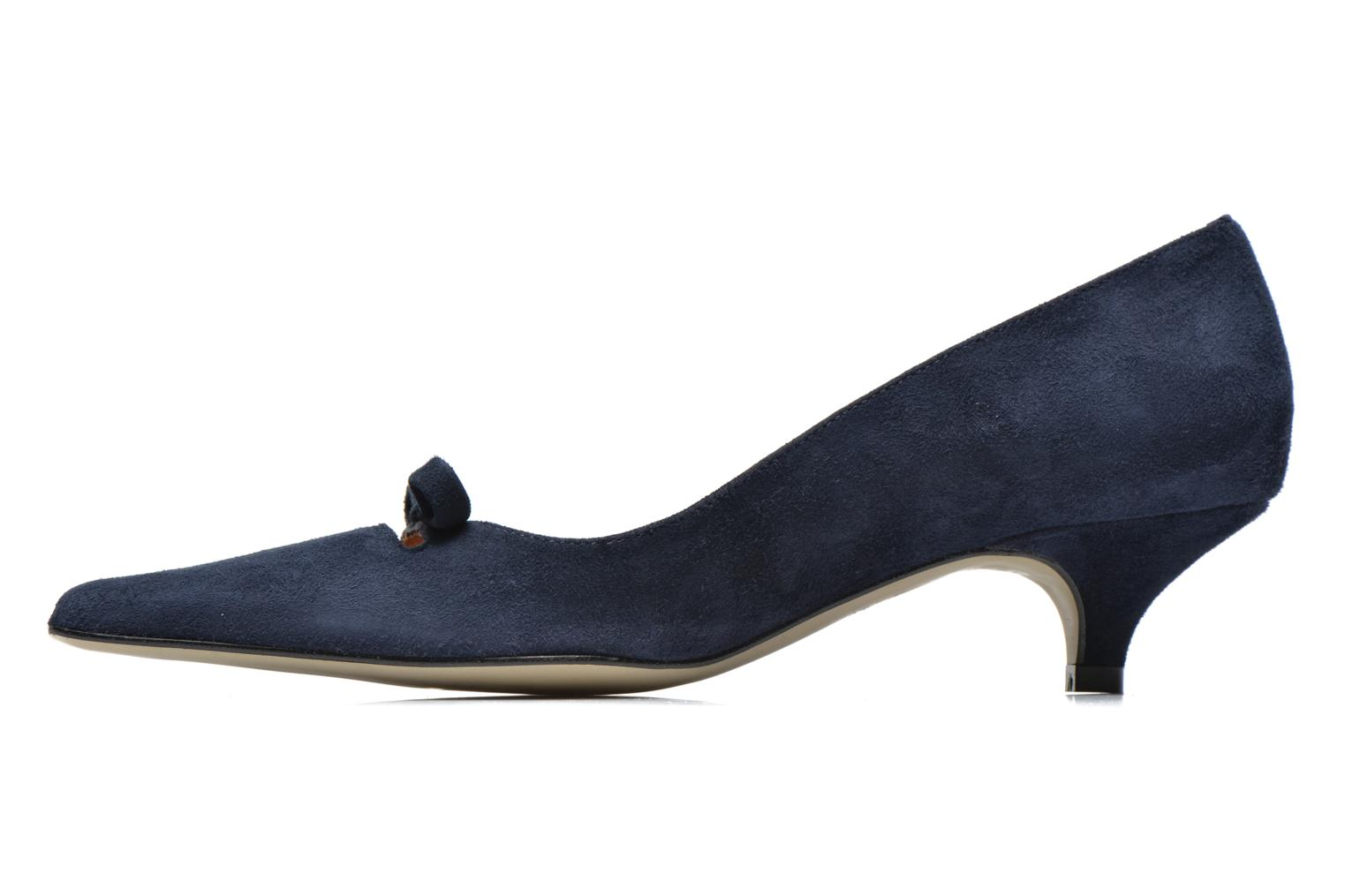 High heels Georgia Rose Ribote Blue front view