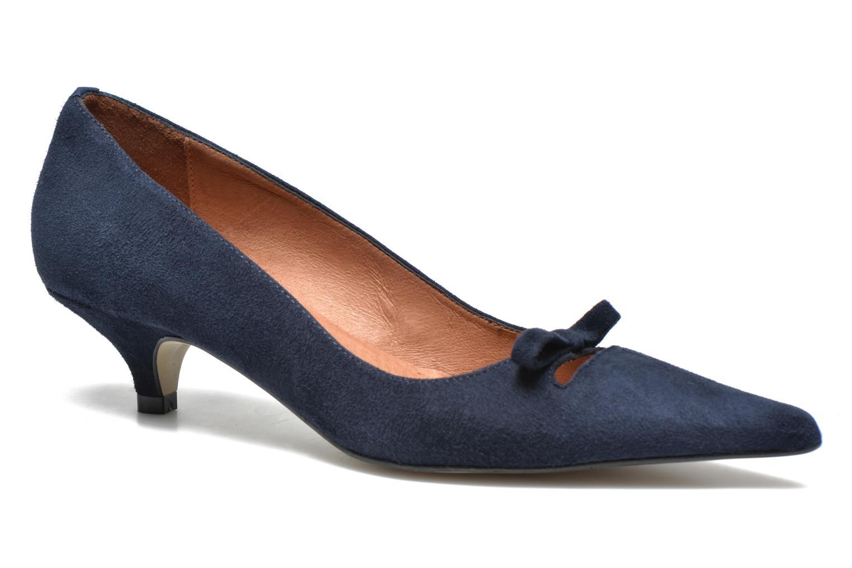 High heels Georgia Rose Ribote Blue detailed view/ Pair view