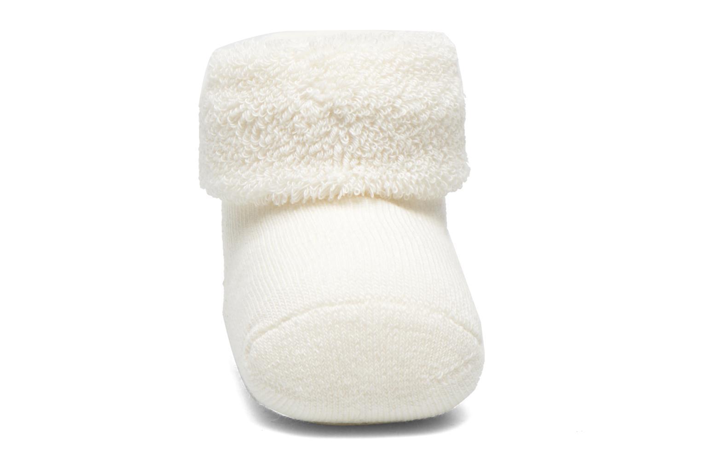 Chaussettes et collants Falke Chaussettes ERSTLING Blanc vue portées chaussures